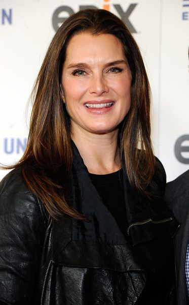 Models with degrees - Brooke Shields