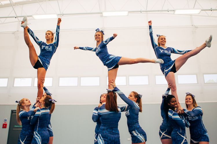 Cheerleading society at York St John University