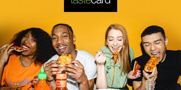 Free tastecard for 3 Months