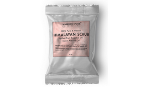Free Himalayan Salt Scrub Sample